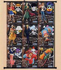 Hot Anime One Piece Nami NieR Chun-Li Poster Wall Scroll Home Decor 60*40CM P01