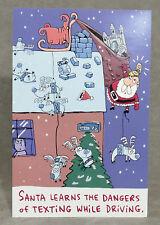 Christmas Cards American Greetings Loose Santa Learns Texting Lot of 12 /12