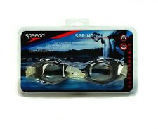 Speedo Sprint Swim - Swimming Performance Active Competition Goggles Clear