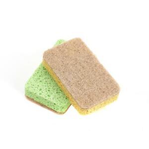 Biodegradable Compostable Kitchen Surface Pot Pan Sisal Sponge Scourer Eco