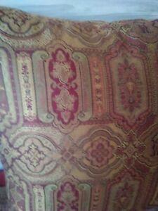 "Vintage Laura Ashley Tamarind burgundy 16""x16""square cushion covers reversible"