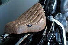RC HARLEY SPORTSTER STRIPES STITCHED SOLO SEAT 04 UP 883, 1200