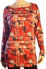 "BNWT John Galliano Red ""Spots"" Oversized Blouse Size L"