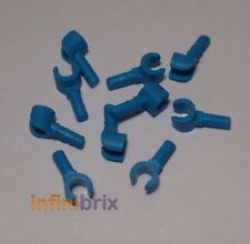 10x Lego Dark Azure Blue Hands for Minifigures (5 Pairs) BRAND NEW
