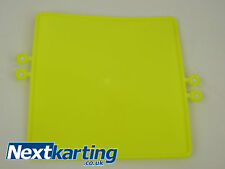 GO KART YELLOW Number Plate /  Rotax X30