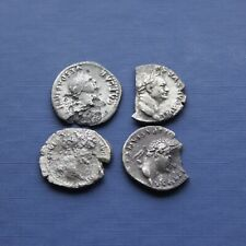 More details for group of 4 silver roman coins good research group