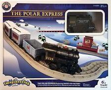 Lionel Polar Express Imagineering Toy Train Set Santa Workshop Factory 6' Track
