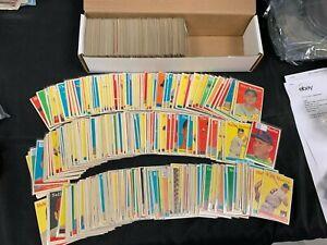 1958 TOPPS BASEBALL CARD *U-PICK* SET BUILDER LOT (5 PICKS) VG/EX/ RANGE!!