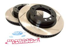 POWER SLOT CRYO SLOTTED SPORT BRAKE ROTORS - FRONT