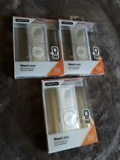 """Griffin  Wave Case  interlocking cases for Ipod NANO 4th Generation """"lot of 3"""""""