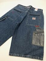 Men/'s Miskeen Vintage Blue Casual Denim Shorts