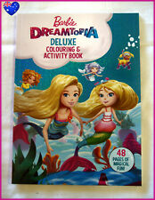 Barbie Dreamtopia Deluxe Colouring and Activity Book