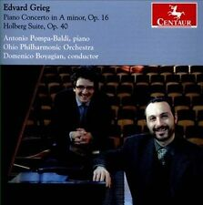 Edvard Grieg: Piano Concerto in A minor, Op. 16; Holberg Suite, Op. 40 (CD,...