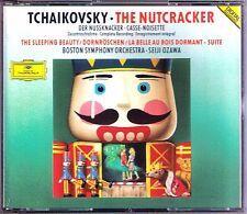 Seiji OZAWA TCHAIKOVSKY The Nutcracker GA 小澤征爾 2CD Nußknacker Sleeping Beauty