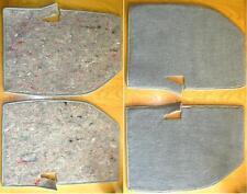 JAGUAR XJS CARPETS REAR NEW ORIGINAL MATERIAL SMOKE GRAY Tappeti posteriori