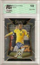 Neymar Jr. 2015 Panini Select World Cup Brazil #22 Soccer Card PGI 10