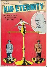 Golden Age KID ETERNITY #16 Quality Comics Group 8.5 VF+