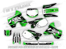 KAWASAKI KX 500 1989 - 1995 1996 1997 1998 1999 2000 2001 2002 2003 2004 Graphic