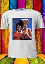 Michael Jackson With VS E.T. ET Funny T-shirt Vest Tank Top Men Women Unisex 447