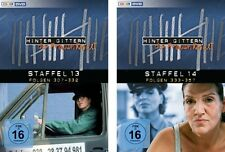 12 DVDs * HINTER GITTERN - DER FRAUENKNAST - STAFFEL 13 + 14 IM SET # NEU OVP §