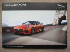 Jaguar F-Type brochure - 2016 - 120+pages S, R, SVR (Coupe and Roadster)