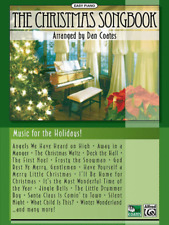 """""""The Christmas Songbook for Easy Piano"""" MUSIC BOOK-BRAND NEW ON SALE-DAN COATES!"""