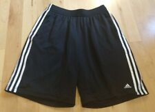 Adidas Men's Black White Athletic Shorts Size L