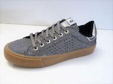 Chaussures Deportivo Tennis Glitter Plata - Victoria Gris 36