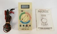 A.W. SPERRY INSTRUMENTS  4.5 Digit Digital Multimeter DM-7010 - CALIBRATED