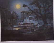 Robert Rucker Ghostly Steamboat Put side by side to see color difference of othe