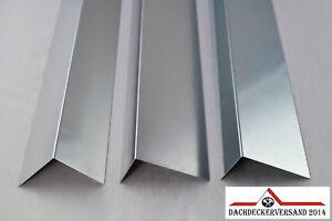 Winkelblech Blechwinkel Abschlussblech Dach Alu Aluminium Zink Titanzink 1m lang