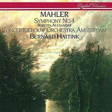 MAHLER Symphony #4 LP (Phillips) 1984 New/Sealed MintD