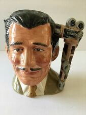 Rare 1984 Clark Gable Royal Doulton Character Jug #D6709 Celebrity Collection