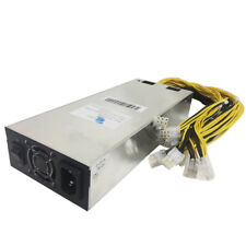 GPU and ASIC Power Supply 1800w - 176v-264v / Works for Bitmain Antiminers