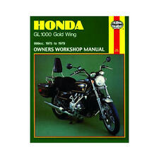 Haynes Motorcycle Repair Manual for Honda GL 1000 Gold Wing 1975-1979