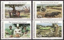 Bophuthatswana 1988 Mi 202-205 Nationale parken, National Parks MNH