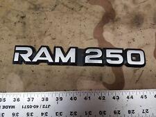 (1) 1991-1996 Dodge Ram 250 Logo Badge OEM