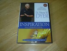 "Dr Wayne Dyer ""Inspiration Your Ultimate Calling"" Live Lecture 2 DVD set New"