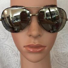 443bb680b63 Linda Farrow Sunglasses Mirrored Oval Chrome Arms And Frame Cat .S