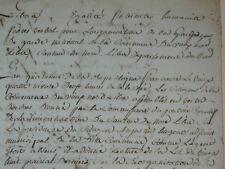 E261-REVOLUTION Française Dép. du NORD Com. du Vieux Nord 1796 divers doc.