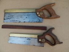 Spear and jackson Tenon saw and a J Tyzack and son dovetail saw