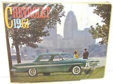 1961 Chevrolet Dealer Album Impala Bel Air Biscayne Corvette Corvair Features