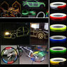5 colors Motorcycle Rim Tape Reflective Wheel Stickers Decals Vinyl 1cm*5m