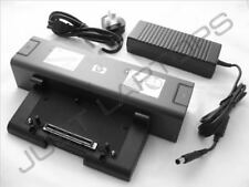 New HP Compaq nx8420 nx9420 6510b Basic Docking Station + AC Adapter 413627-001