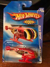 2009 Hot Wheels HW City Works Killer Copter #107 Red