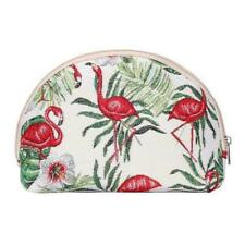 Signare cosmetic bag FLAMINGO print make up bag flamingos tapestry purse birds