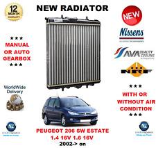 Para Peugeot 206 Sw Estate 1.4 16v 1.6 16V 2002> Nuevo Radiador ** OE Calidad**
