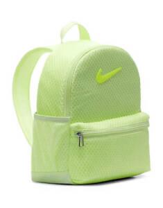 Nike  Mini Backpack Unisex  Bag Rucksack NEON GREEN