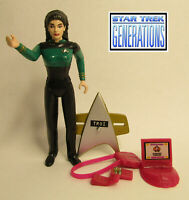 1994 Playmates Star Trek Generations Movie Counselor Deanna Troi Complete Figure