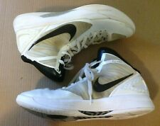 Nike Zoom Hyperdunk 2011  Flywire Basketball Shoes - White / Black SZ 11.5